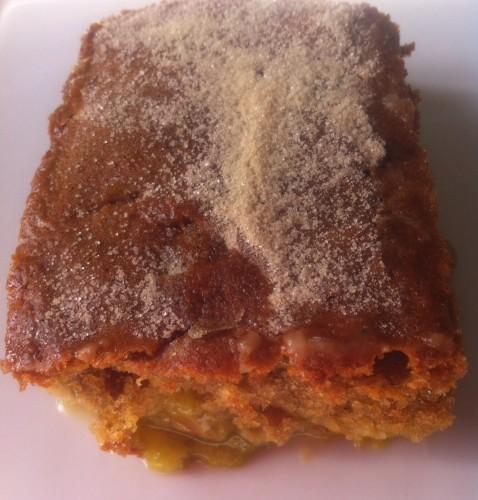 gâteau, prunes, reine claude, saveurs best of 2014