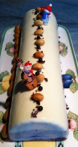 bûche,noel,guy demarle,valrhona,demarle,ivoire,caramelia,caraibes,croustillant,feuilllantine,biscuit praliné