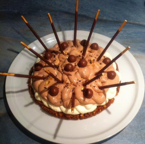 michalak, jivara, ivoire, malteser, mikado, croustillant, mousse, ganache, gâteau d'anniversaire