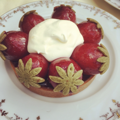 teatime, goûter, ritz, françois perret, tarte aux fraises, goûter, bar vendome