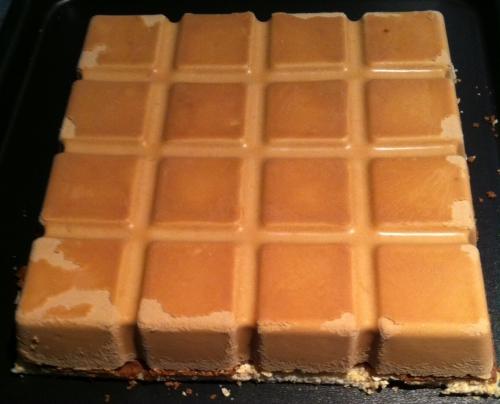 entremets,dacquoise noix,feuillantine,praliné,tablette,mousse caramelia,valhrona,cacao,guimauve,chamallow