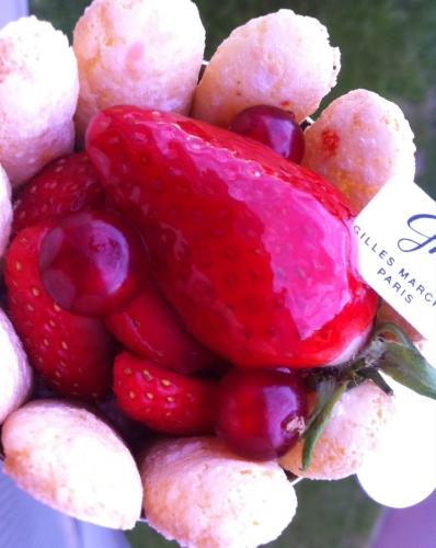 gilles marchal, rue ravignan, montmartre, charlotte, fraise, fraises, viennoiseries, madeleines, kouign amann