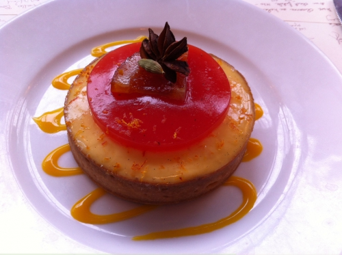 william lamagnere, closerie des lilas, tarte orange sanguine, badiane, cardamome